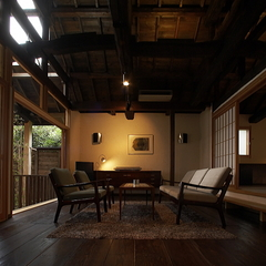 【別荘 離れ】 -Suite Villa- 至福のひとときを  〜料理長こだわりの四季の創作京懐石〜