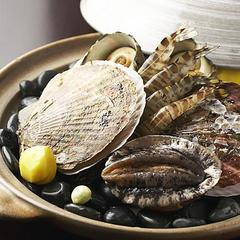 【別荘 Suite Villa】人気No1!獲れたて海鮮素材の旨み海鮮石焼皿付き 創作京懐石プラン
