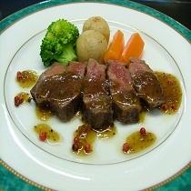 ちょっと贅沢に!味覚会席+「牛フイレステーキ」「本ずわい蟹OR+炭火焼」「ちゃわちゃわ」チョイス