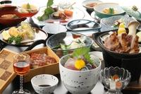 【スタンダードプラン】旬の食材を生かした創作会席/2食付