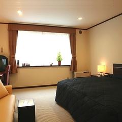 【本館ダブル 定員3名・禁煙】160cmベッドが人気の洋室