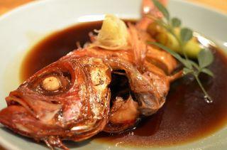 ■下田名物!! 金目鯛の煮付つきバイキングプラン