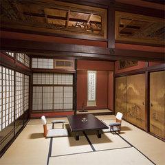 伝統の客室【鶏の間】和室10畳+10畳
