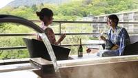【春夏旅セール】憧れの露天風呂付き客室が特別価格★カップルにもおすすめの贅沢旅<基本会席★竹コース>