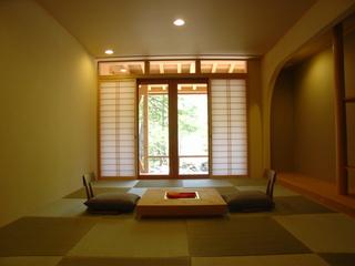 露天付き客室 お部屋食対応客室