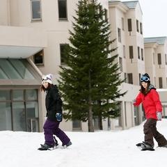 【リフト1日券付】グランデコスノーリゾートオフィシャルホテル!スキー・スノーボードプラン☆二食付