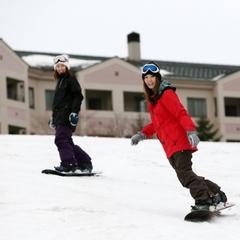 【リフト2日券付】ゲレンデサイドのホテルでスキー・スノーボードをどっぷり満喫!スキープラン☆二食付