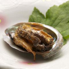 ◆アワビ付プラン◆ 蒸す?orお刺身で?美味しいアワビをお好みの調理でおだしします。