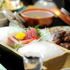 【お刺身グレードUP】当館一押し『選べるメイン料理付き会席』&『日本海のお造り』を堪能♪≪お部屋食≫