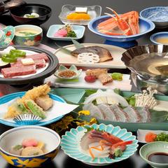鯛しゃぶが自慢♪港敦賀を彩る御食会席:お部屋食