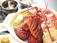 海鮮好きならこのプラン♪冬の海鮮三昧☆【お刺身盛り合わせ&伊勢海老・金目鍋】
