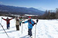 【スノーシュー体験・冬山歩きプラン】ガイドとスノーシューで冬の森の中へ!静寂な白銀の別世界を体験!