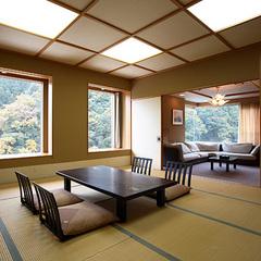上のお部屋(和室12.5畳+6畳+洋間)
