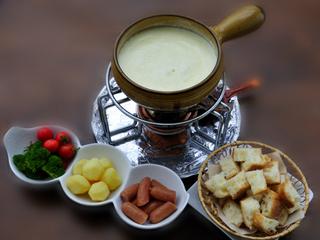 冬季限定【人気のチョコフォンデュプラン】貸切温泉☆チーズフォンデュとアイスシャーベット食べ放題付き♪