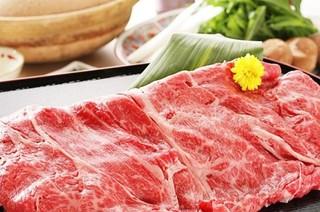 食べ放題プラン牛しゃぶしゃぶ又はすき焼き90分食べ放題プラン!