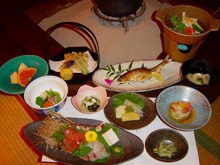 【大満足】山吹会席プラン★地産の美味しい山菜たっぷり召し上がれ♪【2食付】