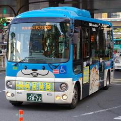 ハチ公バスで渋谷探検♪乗車券2枚&朝食付