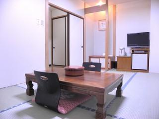 和室8畳(禁煙部屋)&天然温泉
