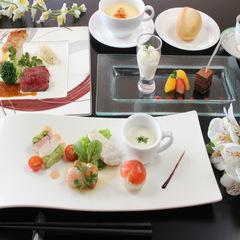 会津の地酒に舌鼓 西洋会席料理と会津の地酒グラス1杯付