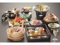 牡蠣鍋をプラス!華やぎ会席プラン 2017-2018