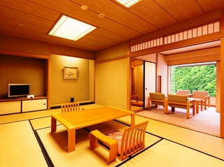 【禁煙】和室(12)畳+副室(4.5)畳+広縁付