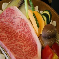 おおいたグルメ★お肉たっぷり♪【豊後牛ステーキ/200g】&露天風呂温泉満喫♪