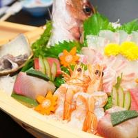 【華やぐ舟盛付】『やっぱりお魚が好き!!』新登場★舟盛付満潮会席で満腹満福★新鮮魚介満喫プラン♪