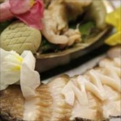 お料理満足♪鯛の姿造り付会席+『伊勢海老料理』or『あわび料理』をお好みでチョイス!!
