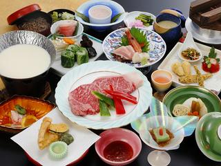 【味覚】大満足!ステーキ会席膳プラン