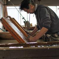 【体験】ここでしか出来ない感動体験〇日本の伝統に触れる!信州松崎和紙の紙漉き体験プラン