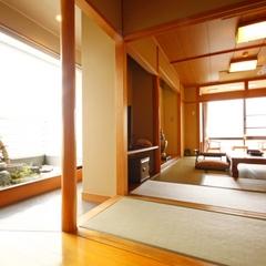【禁煙】一室限定【特別室】天竜川を望む檜の展望風呂付き
