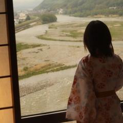南信州ゆったり一人旅♪一番人気「天竜川眺望指定部屋」でのんびり&夕部屋食【平日限定】