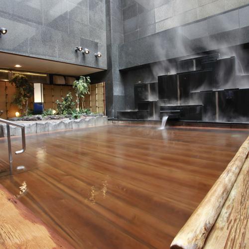 【湯上がりにドリンク一杯♪】ジャグジー・露天・サウナ有の充実天然温泉でゆっくり♪<朝食付>