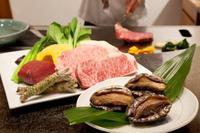 ■ホテル開業20周年プラン■鉄板焼ディナー「活鮑とステーキの特別コース」付宿泊プラン
