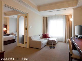ジュニアスイート【喫煙】(52平米 シモンズ製ベッド)