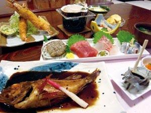 魚介、磯料理プラン(和室4.5畳)