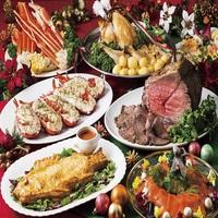 【夕食付】フォアグラ食べ放題 Xmasプレミアムバイキング付 1階ラ・ベランダ