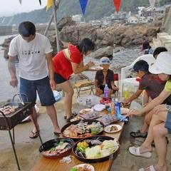 【人気NO1】食べて・泳いで・釣って!3食付き<好評BBQランチ付き>の夏休みファミリープラン