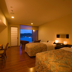 南伊豆で過ごす絶景の露天風呂付洋室12畳