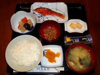 【朝食付プラン】和定食が好評です♪