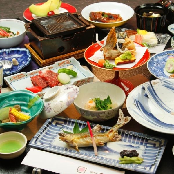【花コース】グレードアップの懐石料理で贅沢なひとときを。。JALクーポン使用可能 プラン 1泊2食
