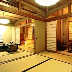 【グループ旅行にオススメ】4名様以上の宿泊♪広いお部屋をご用意します。温泉&看板料理を満喫しよう!