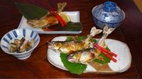 【二食付】いけすに入った新鮮魚…グルメな方必見です!