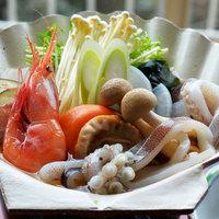【出張・レジャー応援】日本三大魚醤のひとつ能登のいしり使用「いしり貝焼定食」★郷土料理ご堪能プラン♪