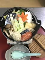 リニューアルオープン記念【限定3室】 お任せ定食 あったかい小鍋付