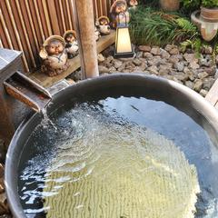 旨い!味噌仕立て『ぼたん鍋』+たぬきの貸切露天風呂