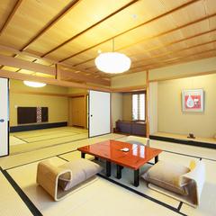 ◆デラックス和室◆【2食付】高野槇木風呂付