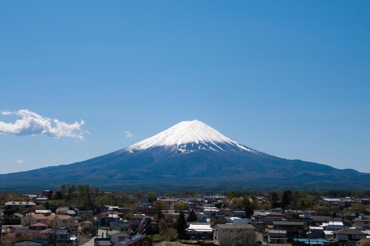 富士山、圧倒!