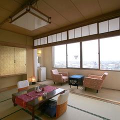 【禁煙】北アルプス側和室10畳(ユニットバス・トイレ付)