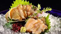 豪華料理をより豪華に♪鮑のお造り、蟹の炙り焼き、大海老のお造り、大海老の蒸し焼の中から1品プレゼント